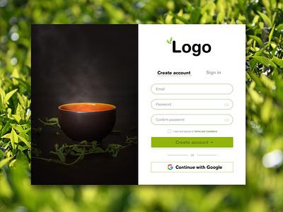 Sign in web design design ui 001 dailyui