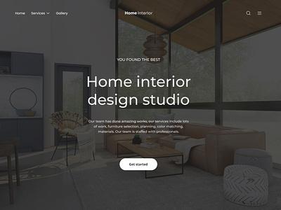 Home interior uiux uxui homeinterior architecture web webdesign home interior design ui ux