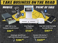 Mobile POS Hardware - Email Design