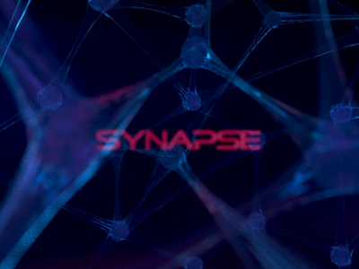 SYNAPSE thoughts synapse brain cinema4d c4d animation motion logo alphabet