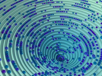 Marble Games track funnel marbles dizzy psychedelic spiral cinema4d c4d animation cg motion