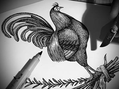 Scratchboard Engravings by Steven Noble ink art illustration artwork etching pen and ink line art scratchboard woodcut steven noble