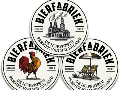 Bierfabriek Labels Illustrated by Steven Noble illustration line art design artwork etching engraving scratchboard logo steven noble