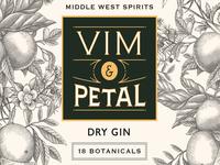 Vim Petal Dry Gin