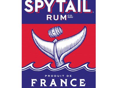 Spytail Rum logo linocut design branding ui graphic design artwork illustration engraving woodcuts steven noble