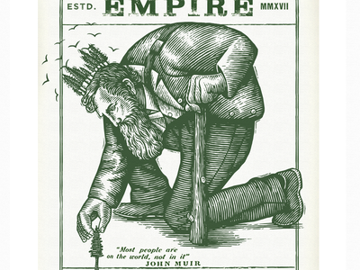Redwood Empire Whiskey illustrator linocut style scraper board linocut vector woodcut scratchboard engraving drawing engraving artist pen and ink line art etching woodcuts portraits scratchboard steven noble