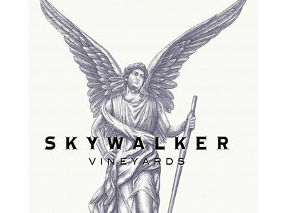 Skywalker Vineyards Winged Icon rendered Steven Noble