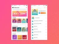 Inspigo.id app UI Exploration
