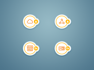 User Icons store circle icon user