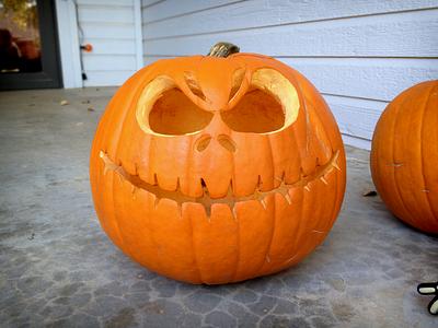 The Pumpkin King halloween pumpkin