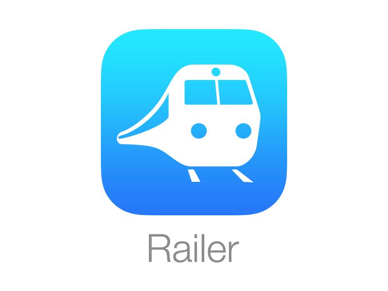 Railer on iOS 7 railer icon ios 7