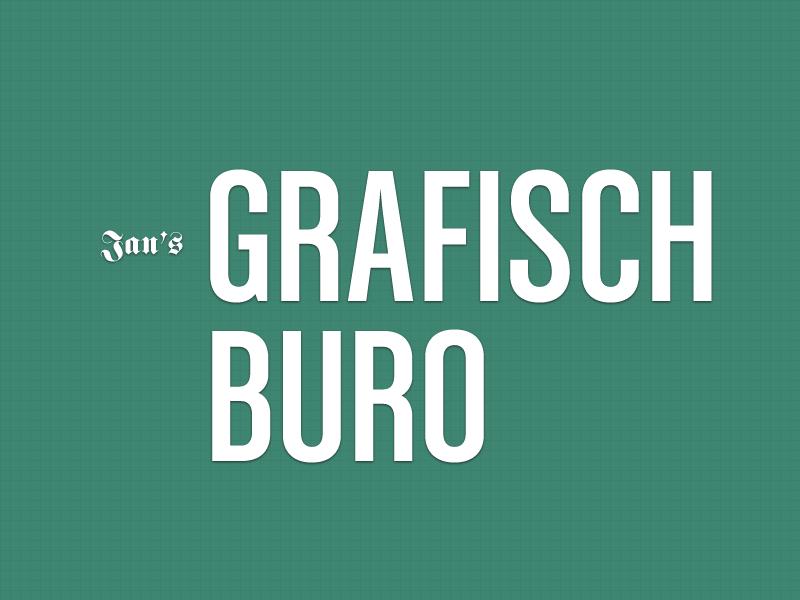 Jan's Grafisch Buro Header