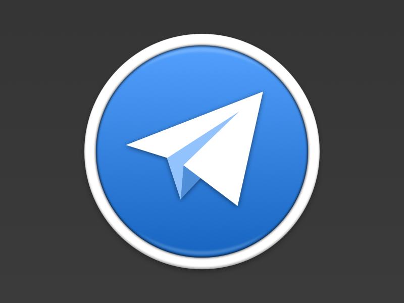 Telegram telegram os x icon