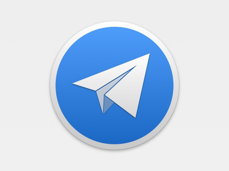 Telegram Yosemite icon telegram yosemite