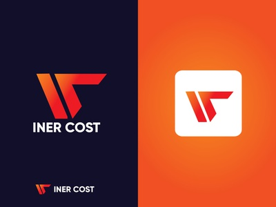 INER COST barnd identy barnd identy business logo company creative minimalist logo modern minimal