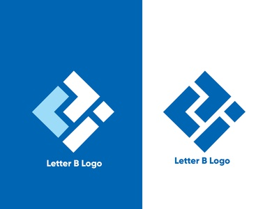 Letter B logo letter b logo letter logo brand identity creative minimal flat logo company logo minimalist logo modern business logo barnd identy