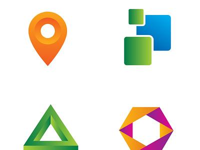 UNIQUE MODERN LOGO DESIGN creative modern minimal flat logo company logo minimalist logo business logo barnd identy