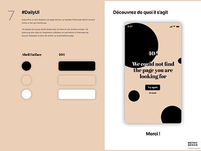 404 Page ui design uidesign ux design ux  ui ux ui  ux uiux uxui uxdesign inspiration figma ui ios design app design 404 error page 404 error 404 page 404page 404