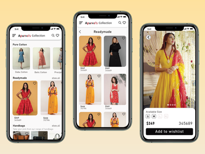 Clothing mobile app ui design hierarchy ui app branding clothing ux design