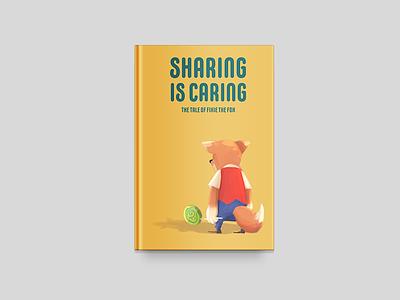 Sharing is Caring Illustration concept art design drawing children book illustration book cover illustration cartoon