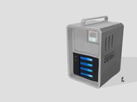 Concept Art . Sci Fi Item Box