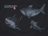 Priabudiman Shark Sculpt