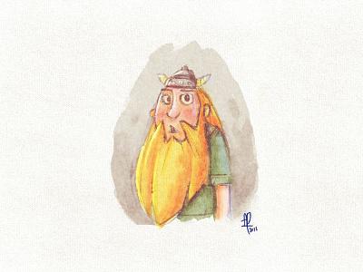 Viking Life - Villager conceptart gameart cartoon comic illustration drawing