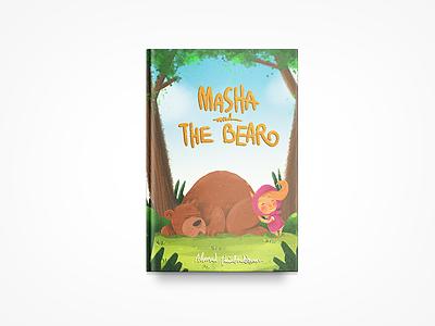 Children's Book Cover - Masha book cover cartoon kidlit children drawing illustration