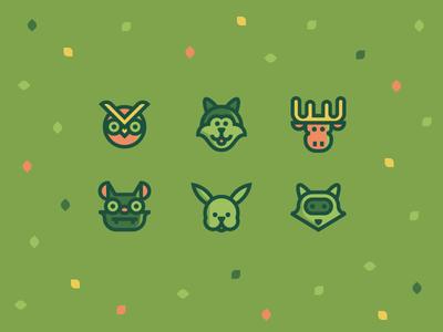 Animals for Flaticon part III