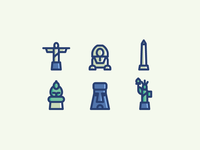 Landmarks for Flaticon part II