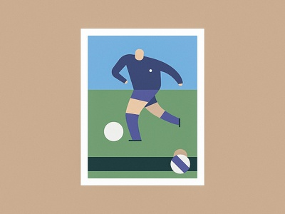 Football player club ball player vintage classic sticker real madrid football soccer