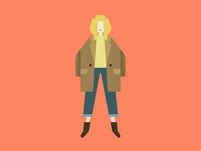 Autumn season woman women boots jeans jacket clothes fashion girl