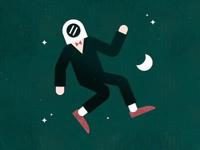 Astronaut halftone texture galaxy star stars shoes space helmet suit astronaut