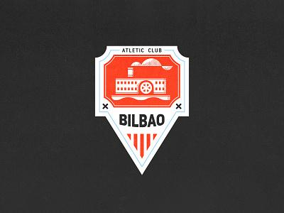 Athletic Club Bilbao ship team spain badge crest football liga bilbao
