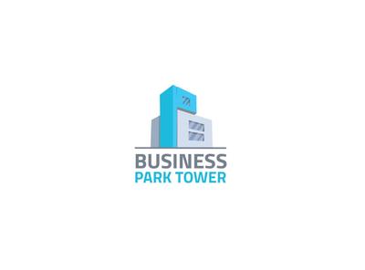 Business Park Tower illustration identity brand identity brand design branding brand logotype logo 3dlogo 3d tower park bussines