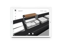 3D Buffet Configurator