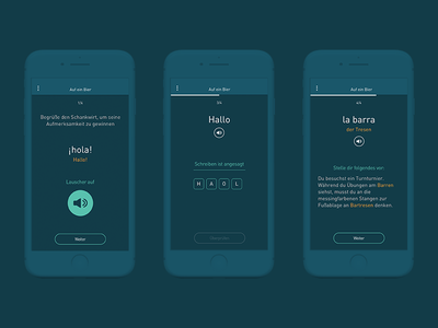 Lingvo - App to learn languages wording type ux languages learning interface app