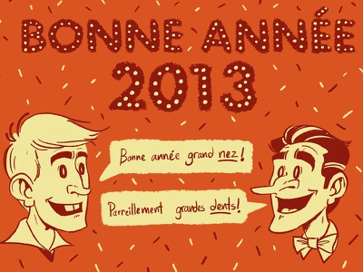 Happy New Year 2013 happy new year illustration drawing digital 2013