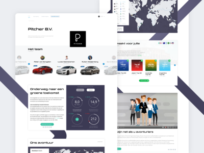 Landing page - Business lease
