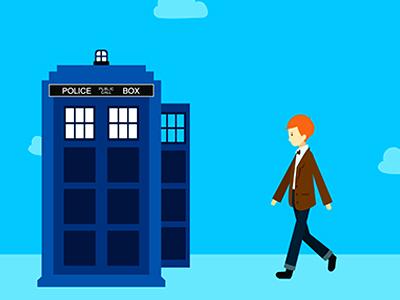 Doctor Who police box tardis doctor who