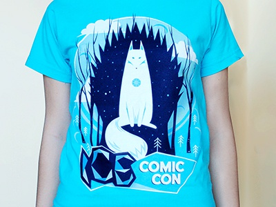 Ice T-Shirt ice forest game of thrones throne stark dire wolf comic con wolk