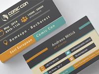 Comic Con 2014 Business Card