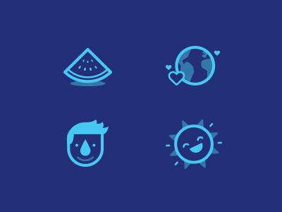 Icons Naya naya water icons