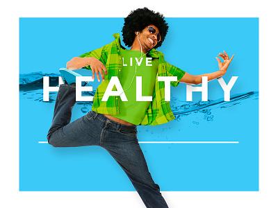 Live Healthy type naya water