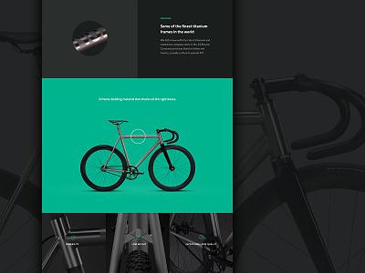 Narrative theme - home page detail e-commerce theme web design shopify