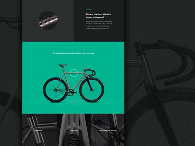 Narrative theme - home page detail