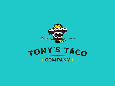 Tony's Taco print jay master design packaging design badges brand typography illustration branding packaging identity logo