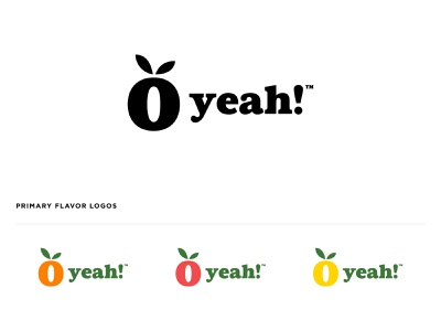 O Yeah! package brand fruit jay master design illustration packaging badges typography branding design print branding logo
