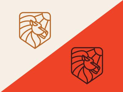 Alpha mark jay master design live design co alpha lion identity logo branding design