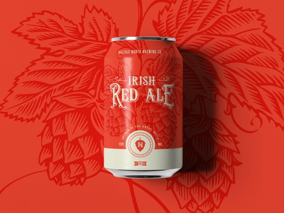 Irish Red Ale austin committee jay master design halifax north packaging cans beer